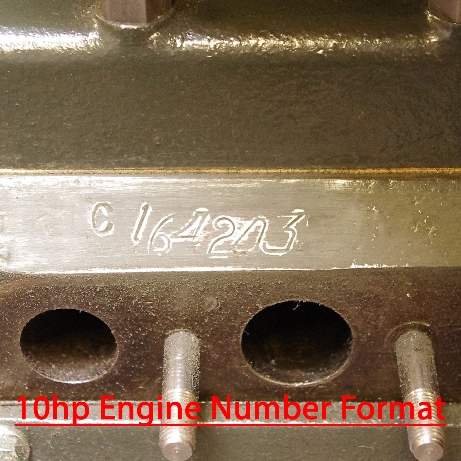 Engine & Chassis Numbers | Small Ford Spares