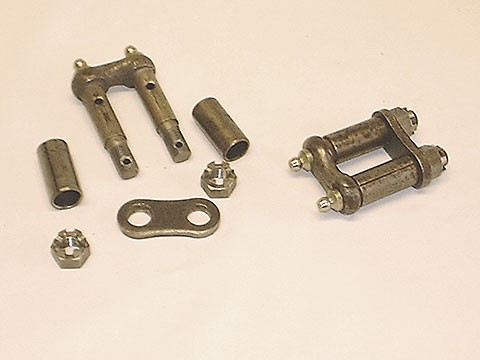 front spring shackle assembly