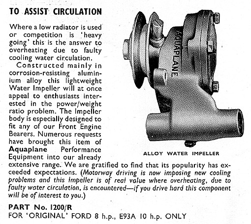 aquaplane water pump