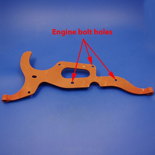 aquaplane engine mounting bracket
